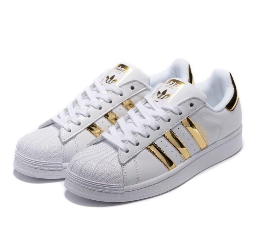 original adidas superstar unisex gold