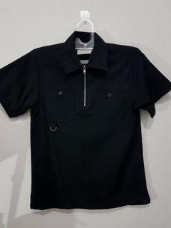 OURLEISURE Workshirt half zip size S