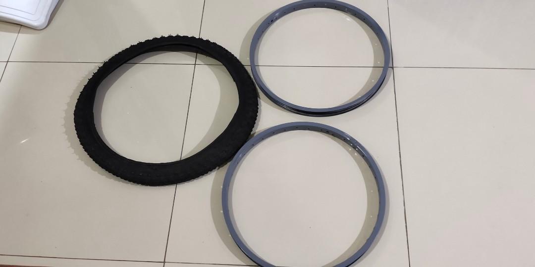 Pelk sepeda ring 20 rekondisi sudah ready epoxi tinggal cat warna