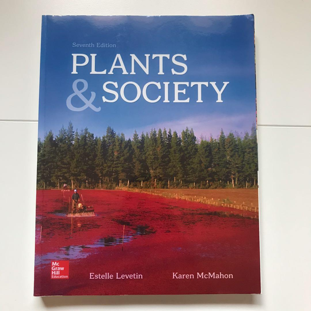 PLANTS & SOCIETY 7th ed