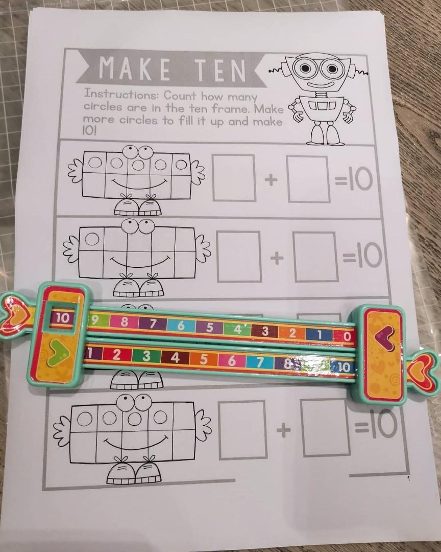 3 Bundles P1 Maths Worksheets Hobbies Toys Books Magazines Assessment Books On Carousell [ 1080 x 864 Pixel ]