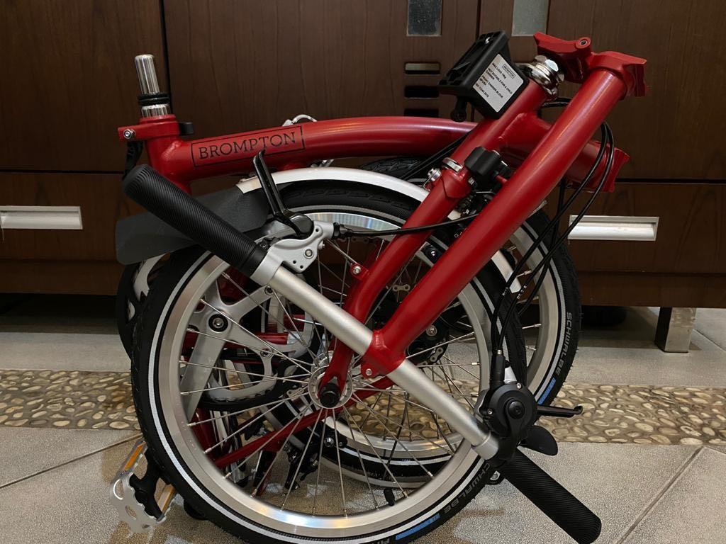 READY SOLO BNIB Brompton S2L House Red 2020