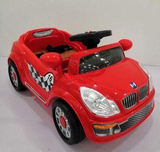Red Mini BMW Rechargeable Ride On Car