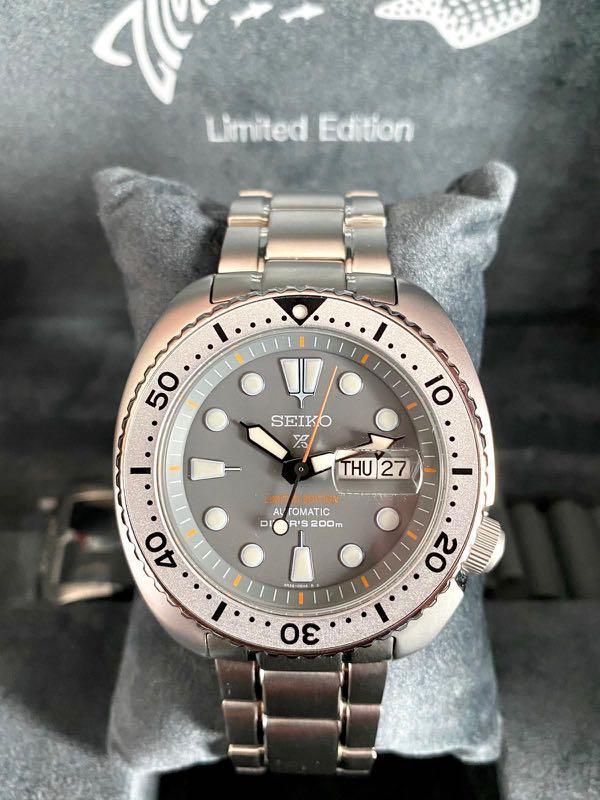 Seiko zimbe 1 silver turtle SRPA19K1
