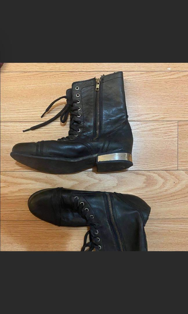 Steven m black boot size 10