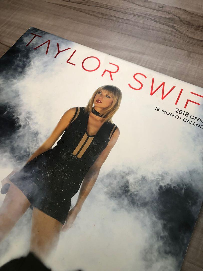 Taylor Swift 18 Month Calendar Vintage Collectibles Vintage Collectibles On Carousell