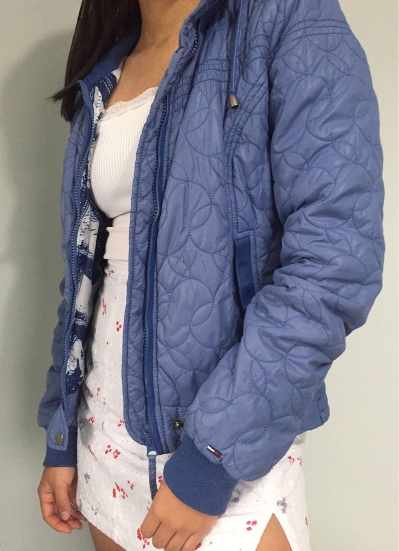 Tommy Hilfiger vintage blue jacket