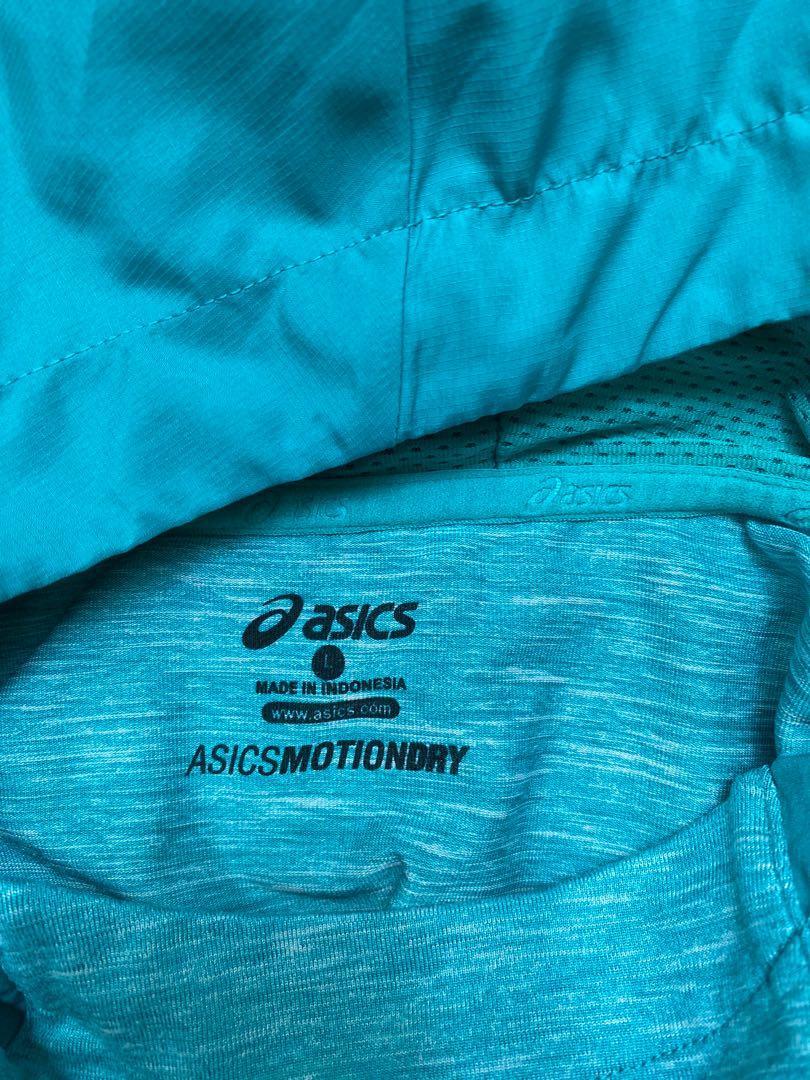 Turquoise ASICS Motiondry Women Sportswear, Sports, Sports Apparel ...