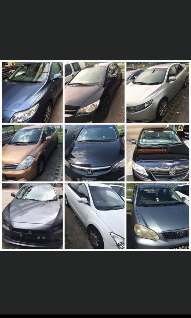 Weekend car rental × 200 nett