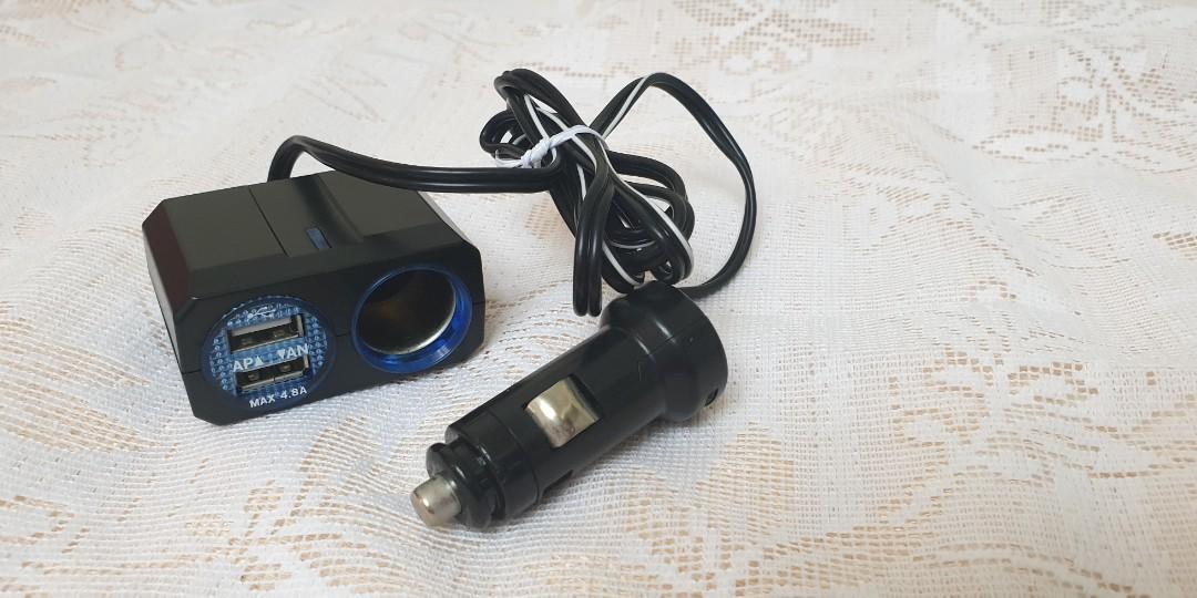 車充加2個USB孔,#1010
