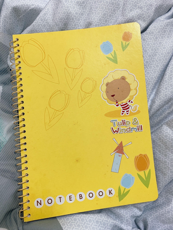 奶油獅筆記本