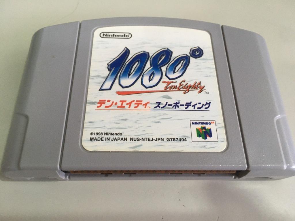 「環大回收」♻二手 N64 Nintendo-GAME 任天堂【1080度滑雪】正日版 卡帶 中古 出清
