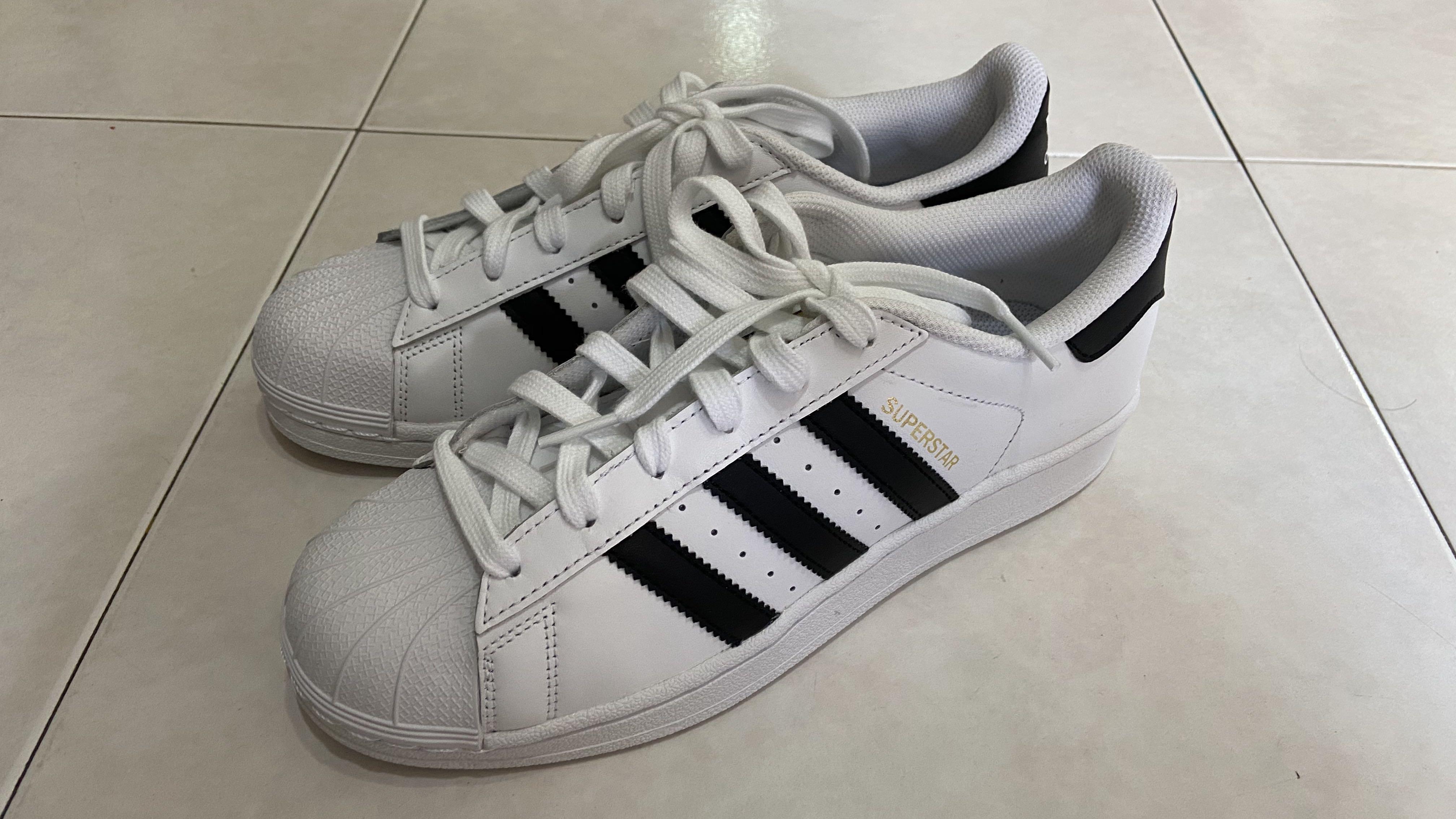 Adidas Superstar Shoes (Youth) UK 5.5