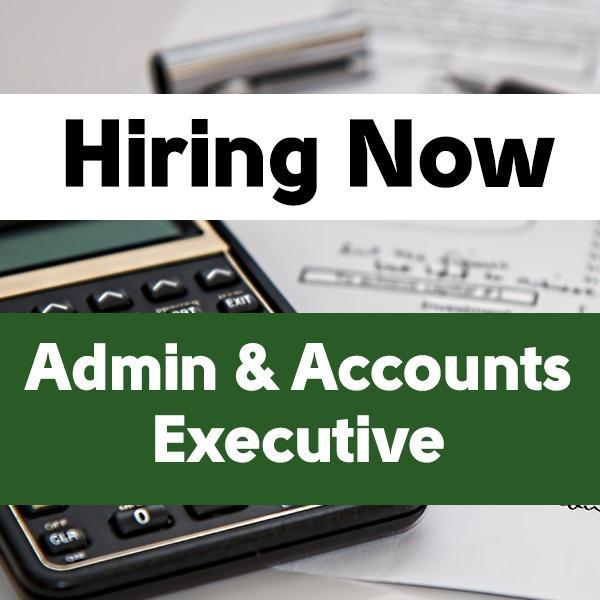 Admin & Accounts Executive
