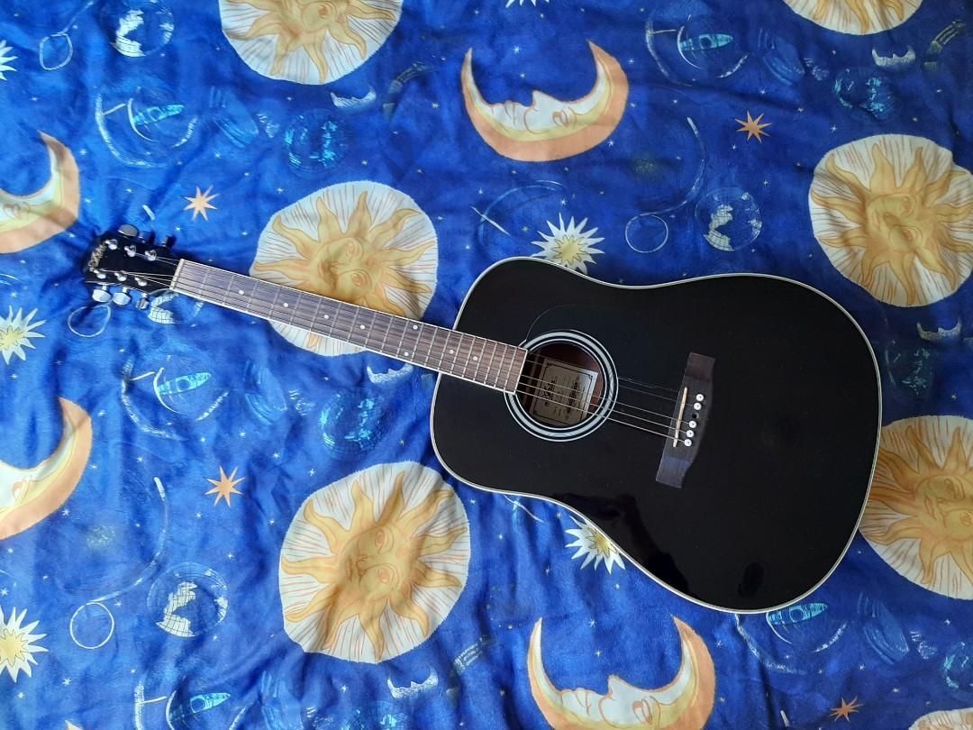 Aria - Black Guitar