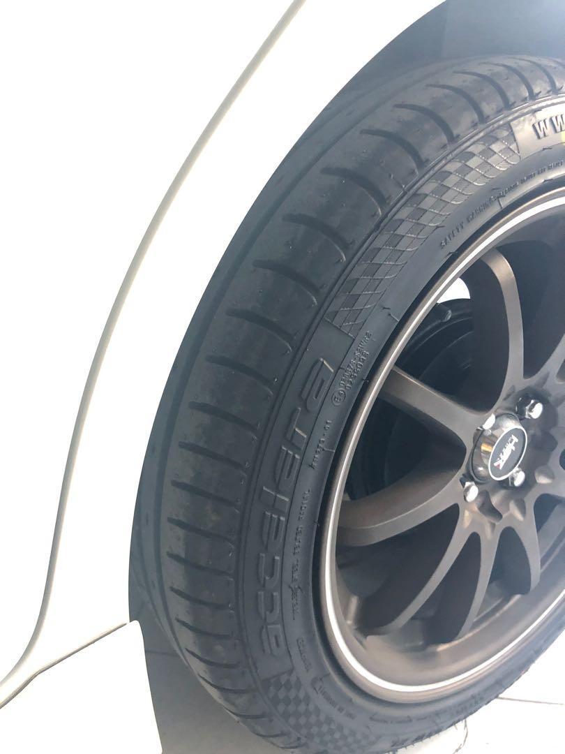 Ban / Tire accelera phi 205 / 50 r17