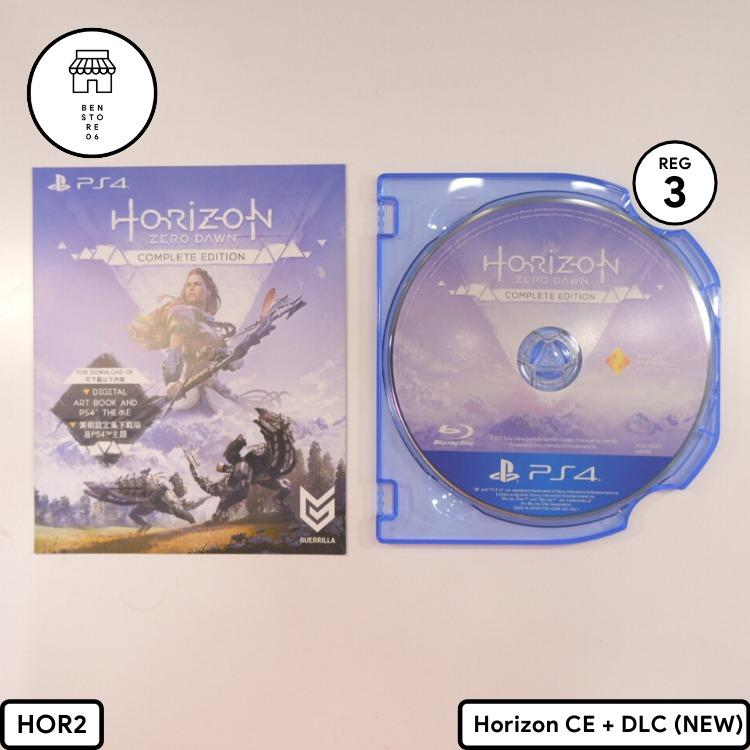 Kaset PS4 Horizon Complete Edition REGION ALL (Second) (No BOX) #akhirbulan