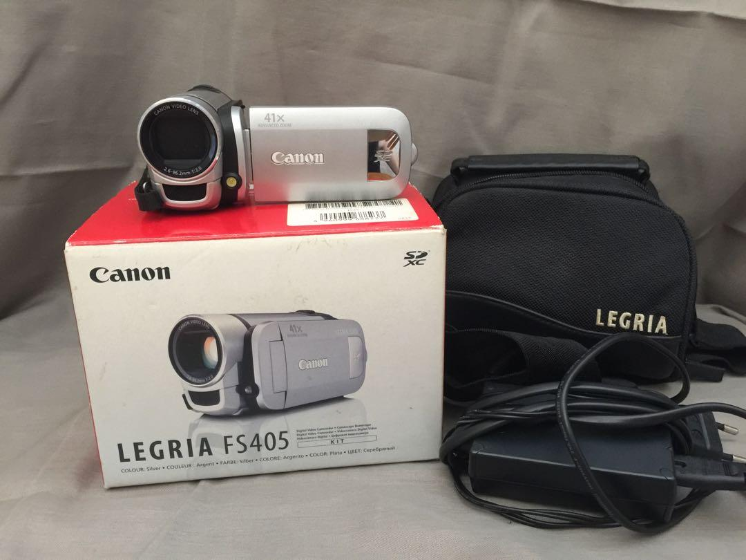 Cannon Video cam/ No Nego