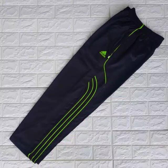 Celana Training Adidas Sleting Pria Wanita Dewasa Bahan LOTTO TEBAL