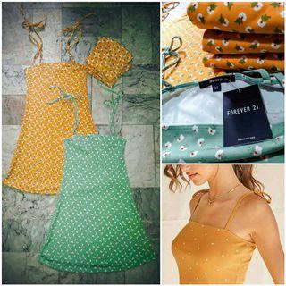 F21 Ribbed Knit Cami Dress