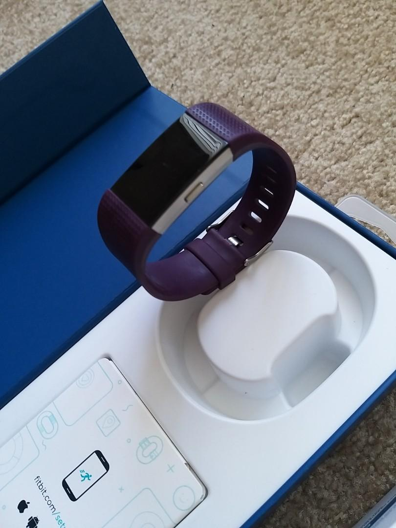 Fitbit Charge 2 - LIKE NEW - used only 4 months