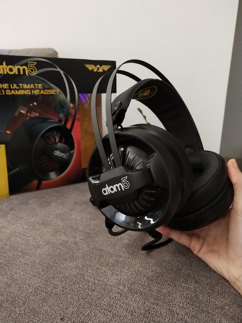 Headset atom 5 the ultimate 2.1 gaming