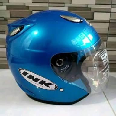 Helm INK centro biru
