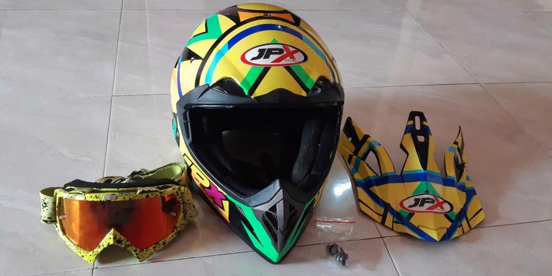 Helm JPX Cross Rossi L