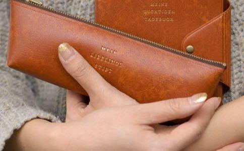 【HIGHTIDE】經典筆袋(咖)&自動筆#開學季