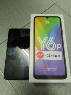 Huawei Y6P full set 4gb ram 64gb rom