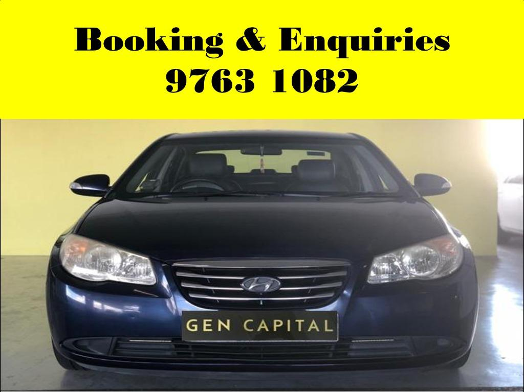 Hyundai Avante ! Cheap ! Budget ! Pre-weekend car for rent ! Deposit only @ $500 . Whatsapp 9763 1082 to reserve now !
