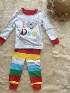 I love Dad Toddler Pajama
