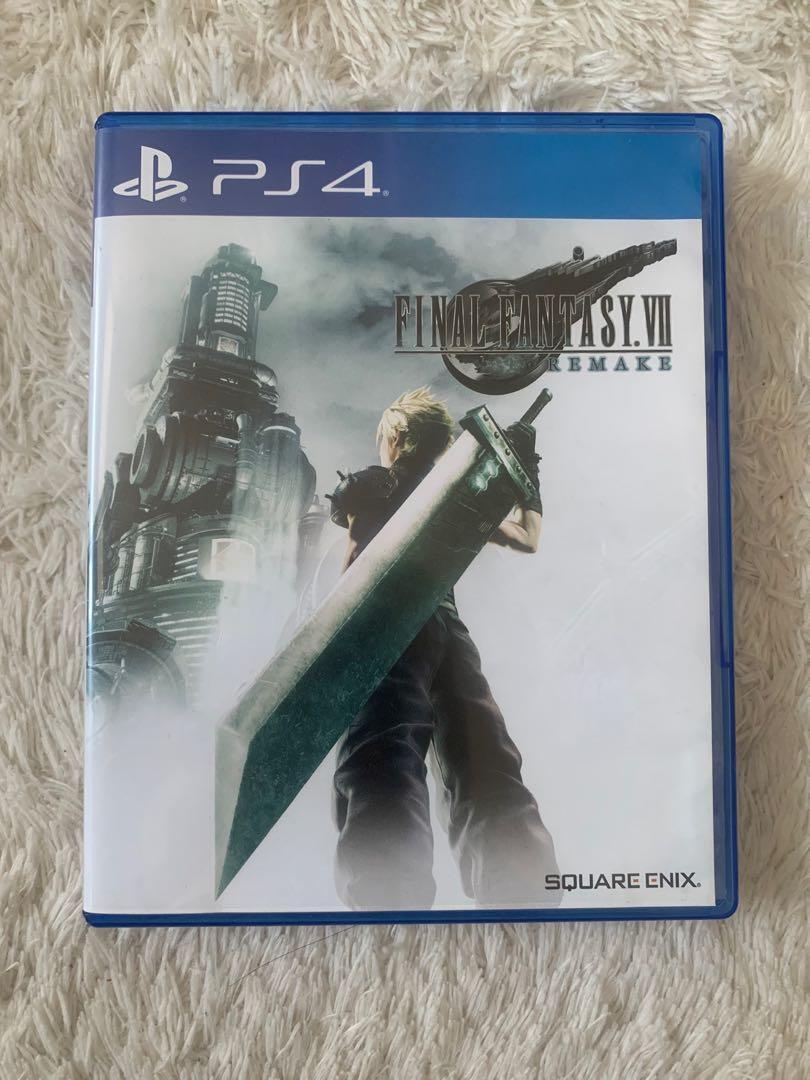 Kaset PS4 : Final Fantasy VII 7 Remake