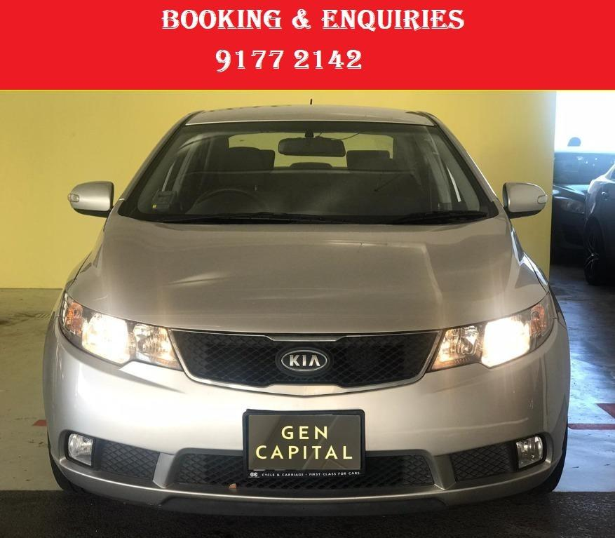 Kia Cerato. Cheap Car Rental. 1month promotion rate. $500 deposit only. Whatsapp 9177 2142 to reserve now. VERY LITTLE UNITS LEFT