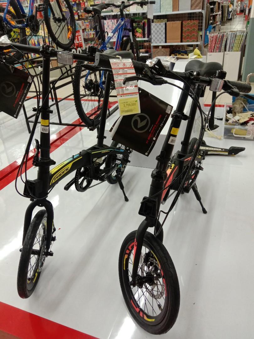 Kredit Sepeda Lipat Promo Bunga Bisa 0% Tanpa DP