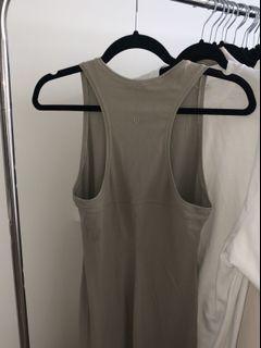 LULULEMON Long Slit Dress