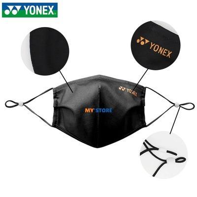 Masker Yonex AC480CR Badminton Original Import Hitam Pink Abu Biru Kento Momota Lindan Atlet