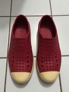 Native 洞洞鞋 塑膠鞋 防水