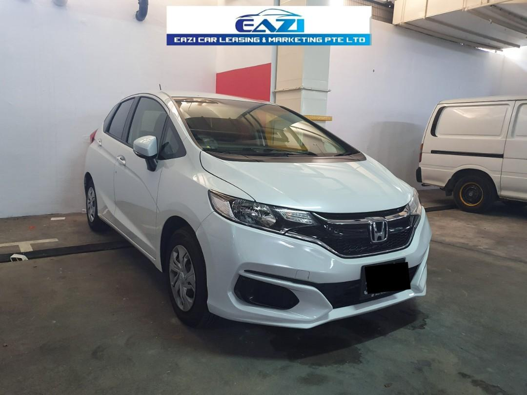 nonphv NEW HONDA FIT P PLATE WELCOME