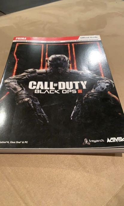 Rare BO3 Official Guide (For Collectors)