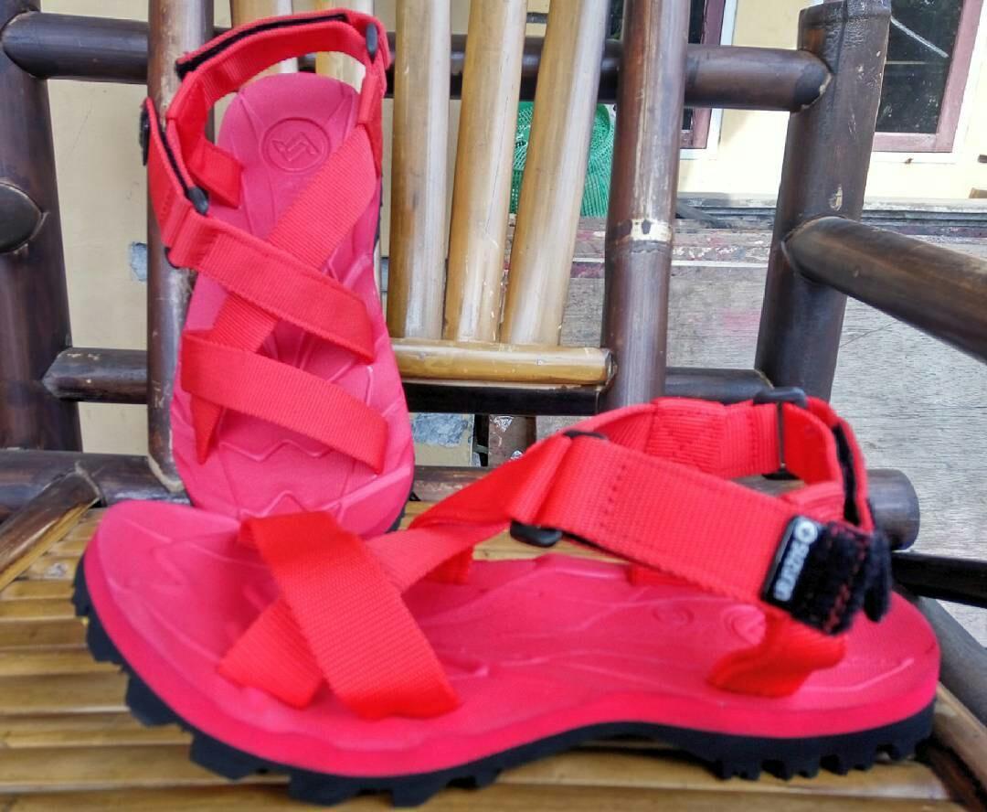 Sandal Gunung Outdoor Suzuran Cross Mr1 Full Red