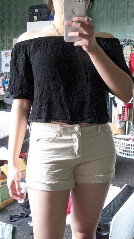Size 10 off-shoulder shirt