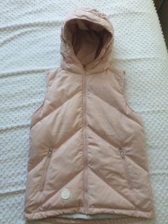 Size 8 Pink Huffer Down Vest