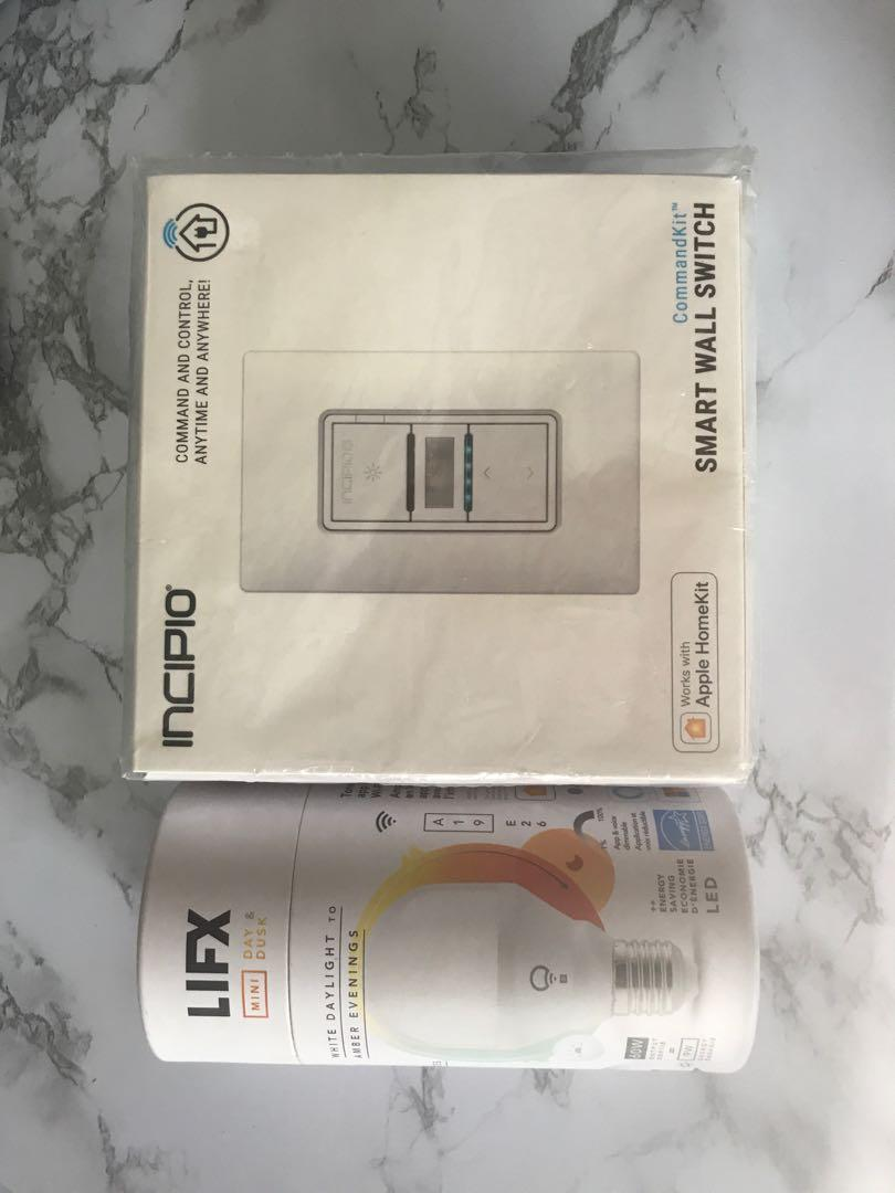 Smart Led light bulb and light switch system
