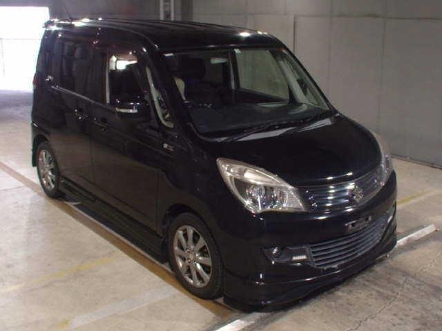 Suzuki Solio Black & White Idling Stop Limited Galaxy Black Auto