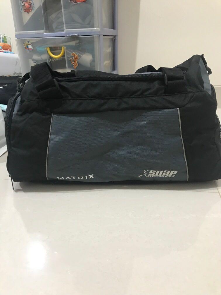Tas Olahraga Travel Gym Bag Snap Fitness