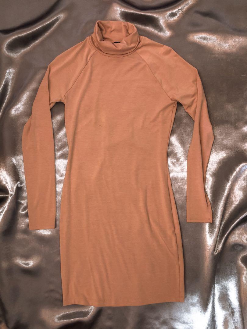 Turtle neck Bodycon dress