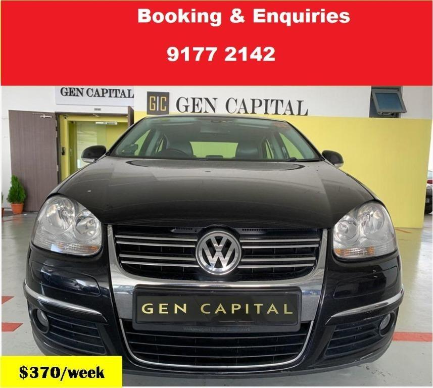Volkswagen Jetta. Cheap Car Rental. 1month promotion rate. $500 deposit only. Whatsapp 9177 2142 to reserve now. VERY LITTLE UNITS LEFT
