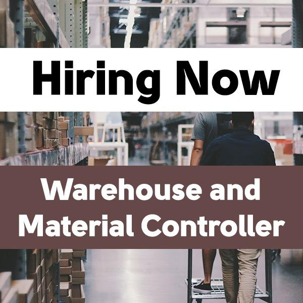 Warehouse and Material Controller