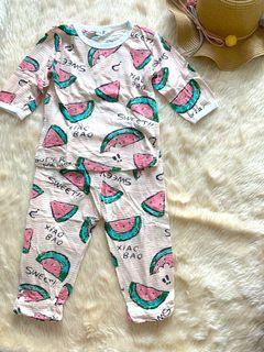 Watermelon Bamboo Fabric Pajama
